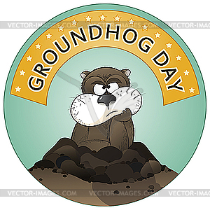 Groundhog Day - Vector-Design