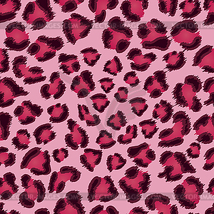 Nahtlose rosa Leoparden-Textur - Vector-Clipart / Vektorgrafik