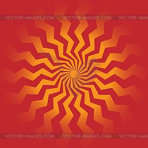 Sonnenstrahlen - Vektor-Clipart / Vektorgrafik