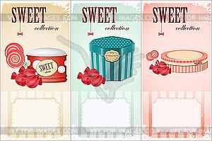 Süße Sammlung - Preisschilde - Vector Clip Art