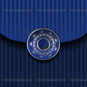 Blue Vintage-Vorlage - Vector-Illustration
