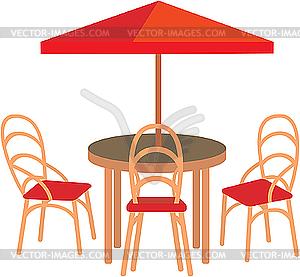 Летнее уличное кафе - изображение в ...: vector-images.com/clipart/clp142598/?lang=rus