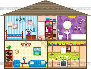 haus vector clipart. Black Bedroom Furniture Sets. Home Design Ideas