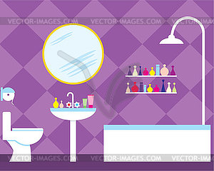 Bathroom - vector image