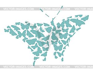 Schmetterling - Vektorgrafik