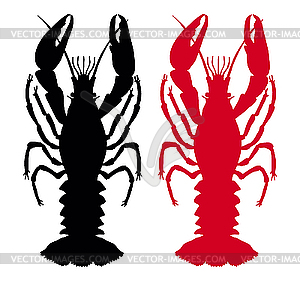 Crawfish - vector EPS clipart
