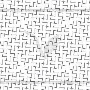 einfache geometrische muster graue kreuze vektorisierte grafik. Black Bedroom Furniture Sets. Home Design Ideas