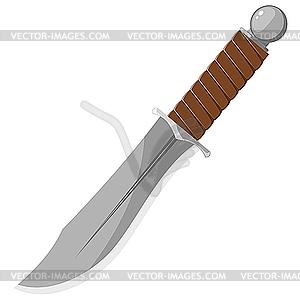 Scharfer Messer - Royalty-Free Vektor-Clipart
