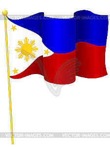 Flag of Philippines - vector image