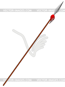 Spear. - Vector-Illustration
