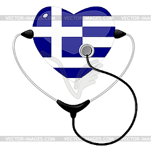 Medizin Griechenland - Vektorgrafik-Design
