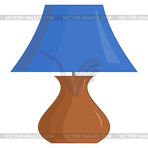 Der Lampenschirm - Vektor-Skizze