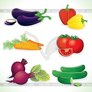 Овощи векторный рисунок
