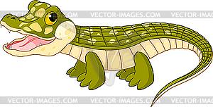 Baby-Krokodil - Vector-Design