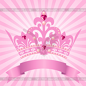 Krone von Prinzessin - Vector-Illustration