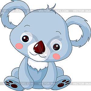 Comic-Koala - Vector-Design