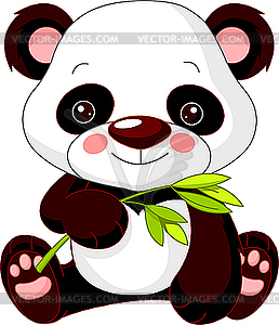Comic-Panda - Vector-Illustration