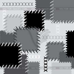 Hintergrund mit Patches - Vector-Design