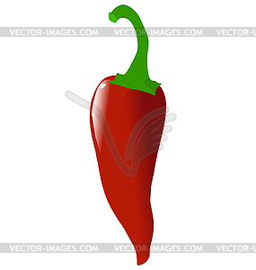 Roter Paprika - Vector-Clipart / Vektor-Bild