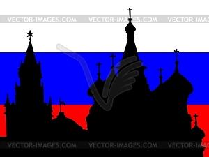 Moskau - Vektor-Bild
