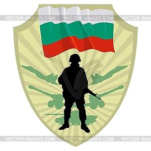 Army of Bulgaria - vektorisierte Grafik