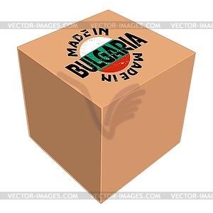 Made in Bulgaria - Vektorgrafik-Design