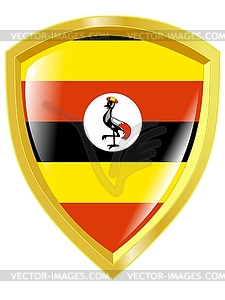 Colours of Uganda - Vector-Bild