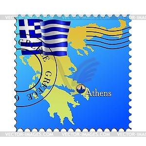 Athen - Hauptstadt Griechenlands - vektorisierte Abbildung