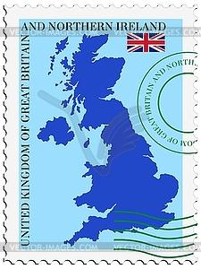 Mail to-aus Großbritannien - Clipart-Design