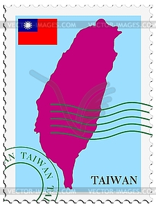 Mail to-aus Taiwan - vektorisiertes Clipart