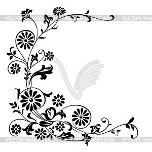 Floral Ornament Undangan Format Cdr