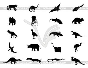 Dinosaurier - Clipart