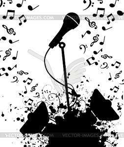 Микрофон фон