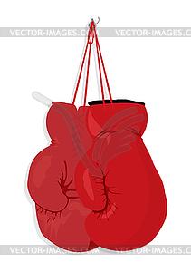 Boxhandschuhe - Vector-Design