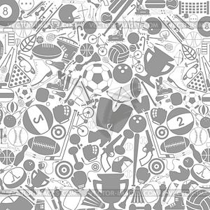 Sport-Hintergrund - vektorisierte Abbildung
