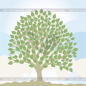 Baum - Vector-Clipart / Vektor-Bild