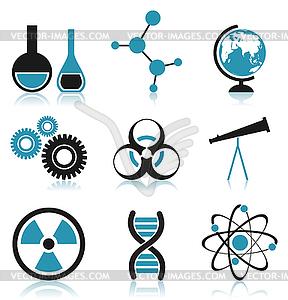 Wissenschaft Symbol - Stock-Clipart