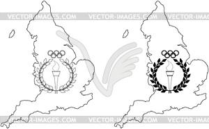 Olympischen Spiele in London - Vektor-Clipart / Vektorgrafik