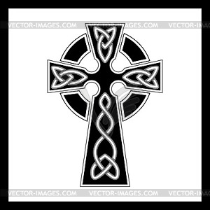 Keltisches Kreuz - Vektorgrafik-Design