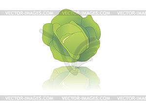 Kohl - farbige Vektorgrafik