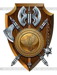 Heraldisches Emblem - Vektor-Design