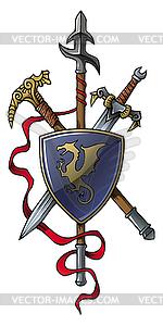 Wappen - vektorisiertes Clip-Art