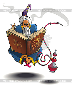 Arabischer Zauberer - vektorisierte Grafik
