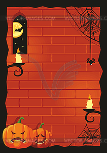 Halloween background - vector clipartHalloween Background Clipart