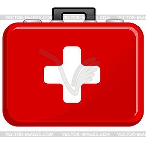 Icon - Erste-Hilfe - Vector Clip Art