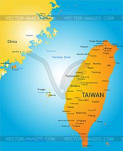 Taiwan - Clipart-Design
