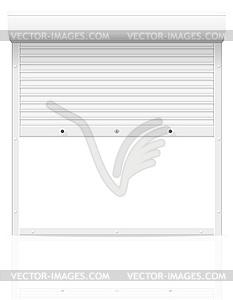 Rollläden - vektorisiertes Clip-Art