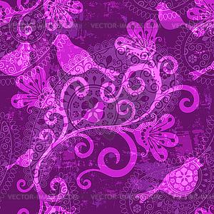 Фон розовый со звездочками