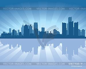 ... Мичиган горизонта - векторный рисунок: vector-images.com/clipart/clp451133/?lang=rus