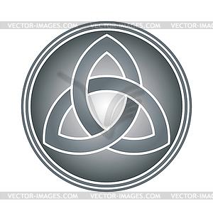 Celtic Trinity Knot Clip Art
